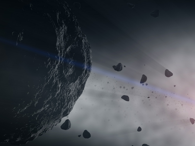The asteroid Bennu from NASA