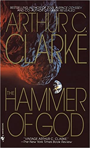 Cover of The Hammer of God by Arthur C. Clarke