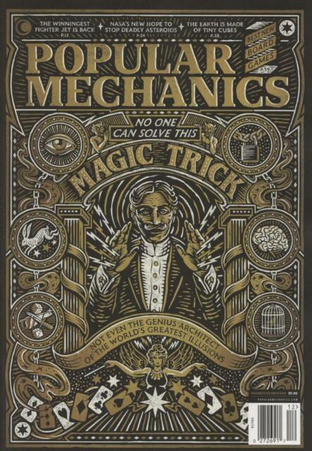 Cover of November/December issue of Popular Mechanics magazine